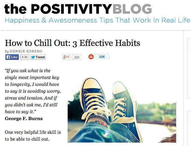 Positivity Blog