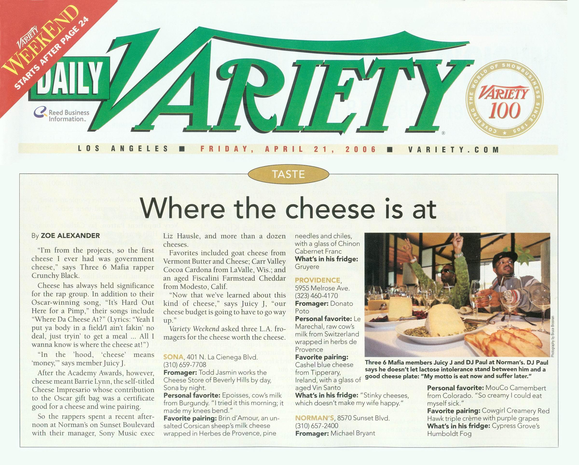 Variety Mag