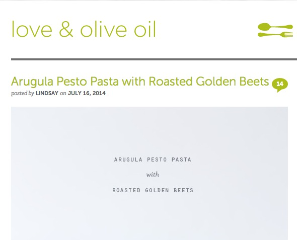 Love and Olive Oil