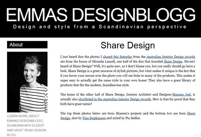 Emma's Design Blogg