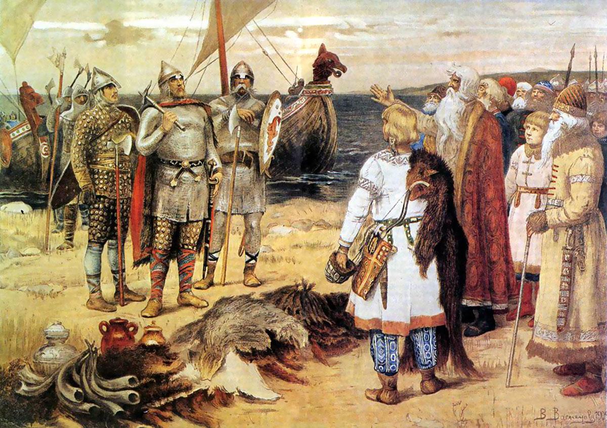 Варяги в истории древней руси доклад 7424