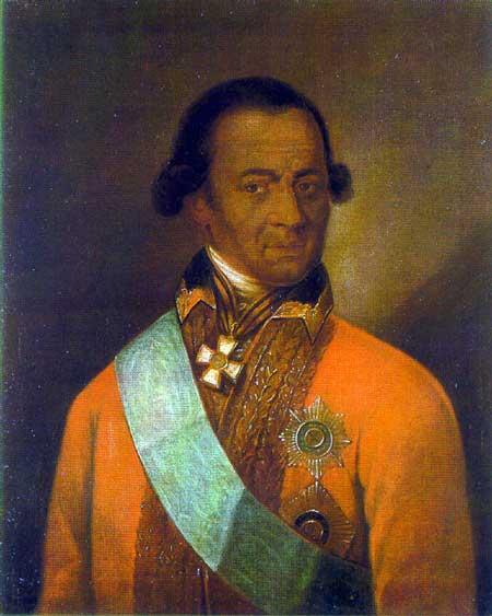 Предположительно, портрет Абрама (Ибрагима) Ганнибала