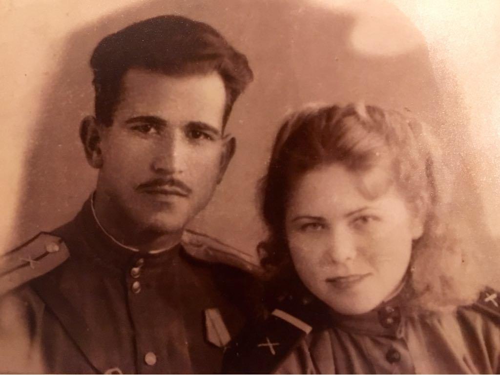 Дедушка и бабушка Наили Аскер-заде