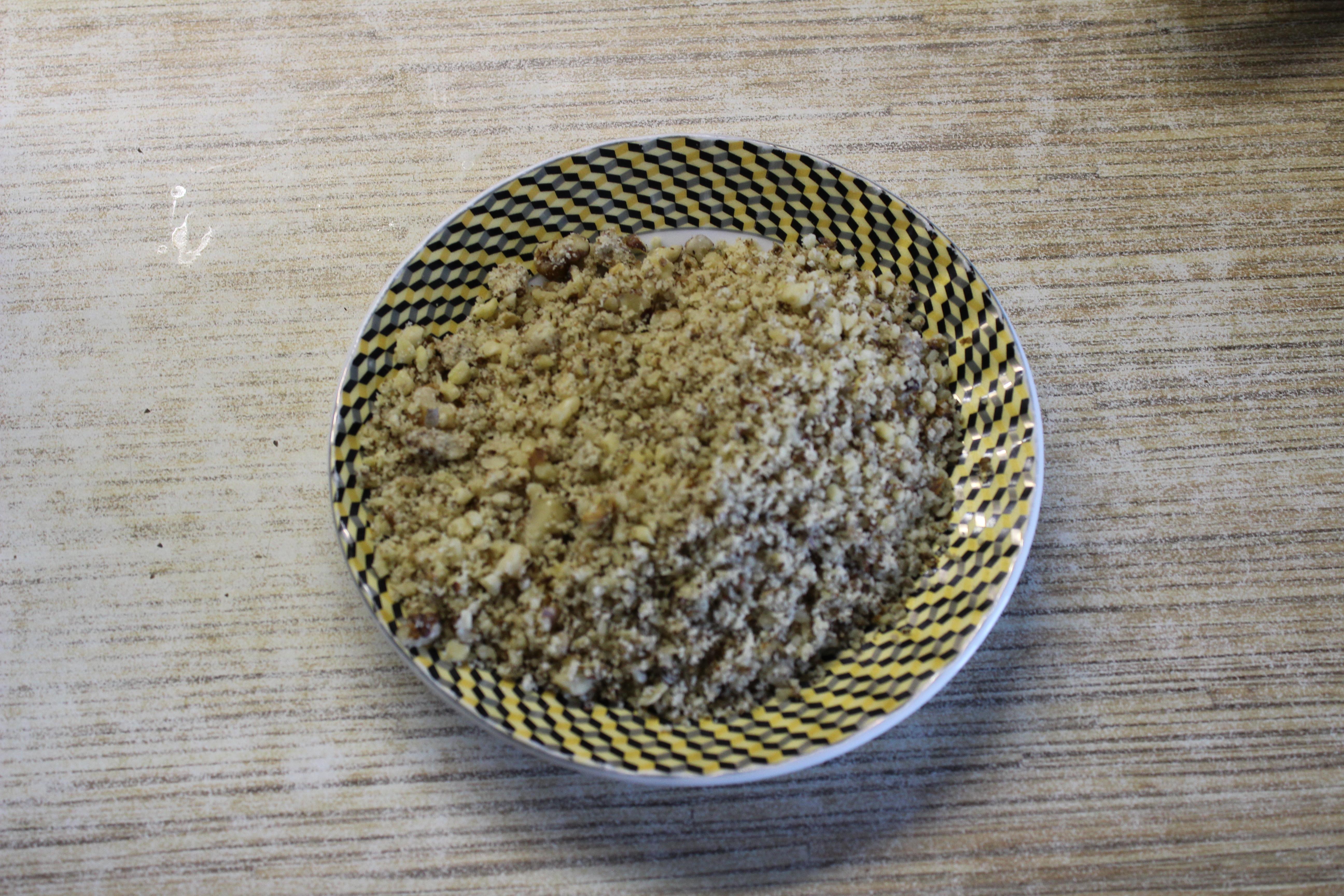 Пошаговый фото-рецепт: Трехслойный пирог с маком и орехами