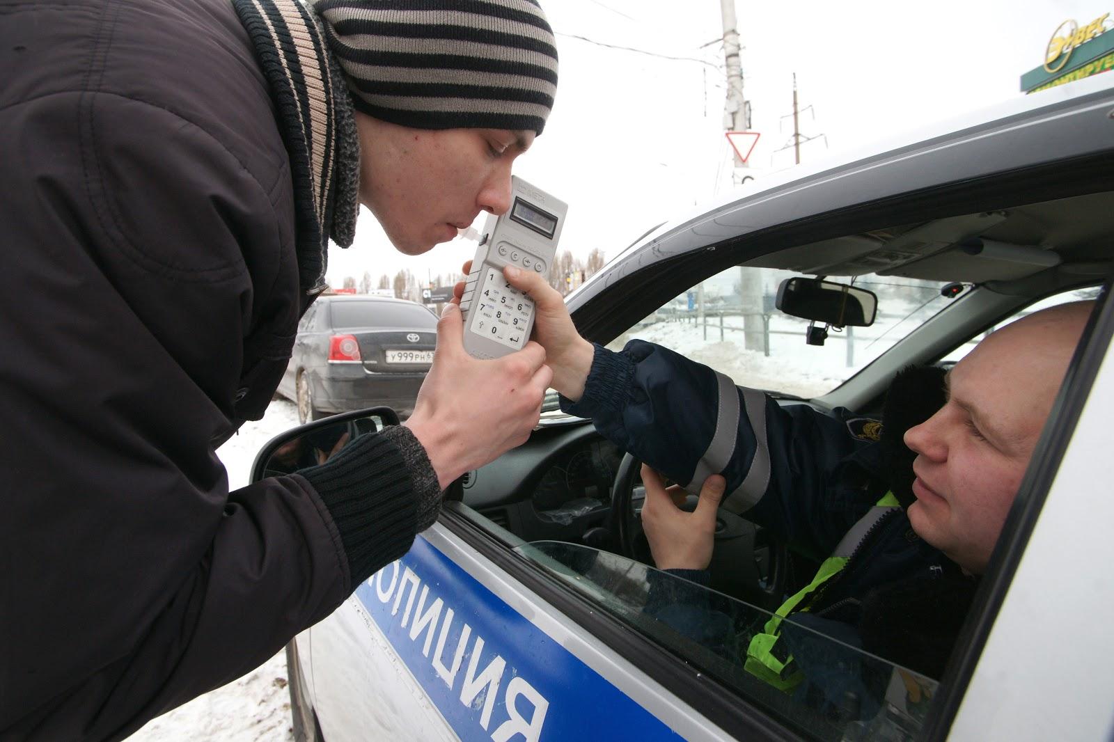 График рейдов ДПС ГИБДД Тольятти на алкоголь