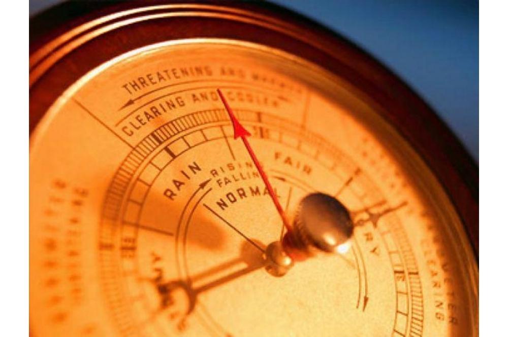 Колебания атмосферного давления
