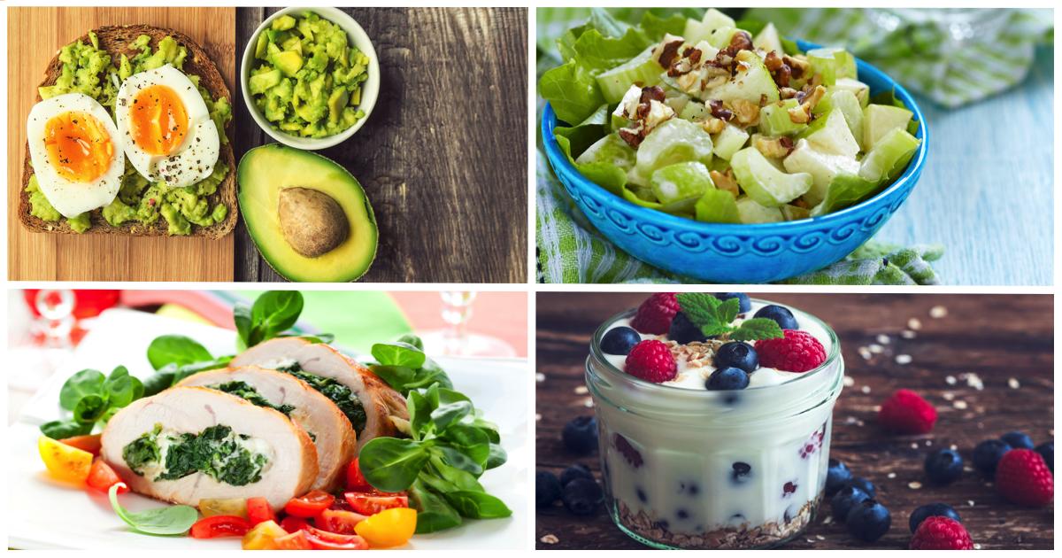 Вкусные и полезные блюда для  легких вечерних перекусов