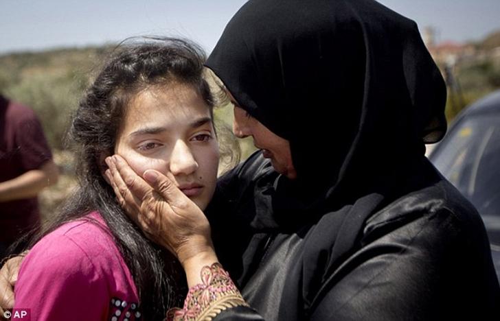 Фото 12-летняя палестинская девочка, пережившая ужасы израильской тюрьмы