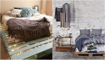 Идеи вашего дома: 33 прекрасные идеи для создания кроватей из паллет, которые очаруют с первого взгляда