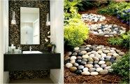 Идеи вашего дома: 17 крутых идей использования камней в дизайне дома и сада