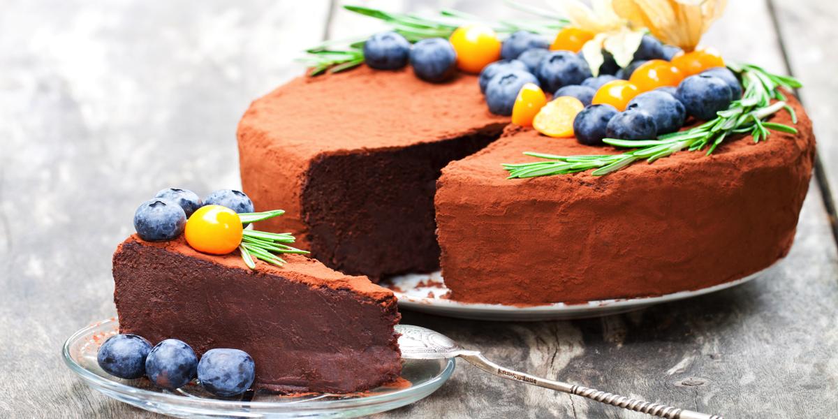 Фото Низкокалорийный шоколадный чизкейк (130ккал на 100г) - невероятно вкусно и не вредит фигуре