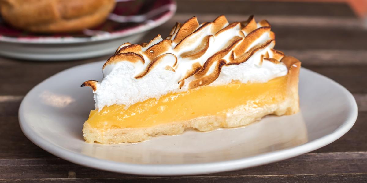 Фото Лимонный тарт с меренгой