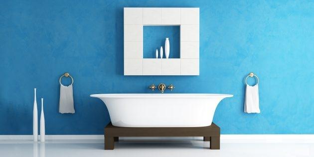 Фото 6 бюджетных способов обновить интерьер ванной без ремонта