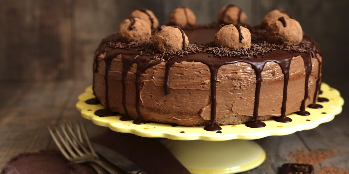 Фото Шоколадный муссовый торт
