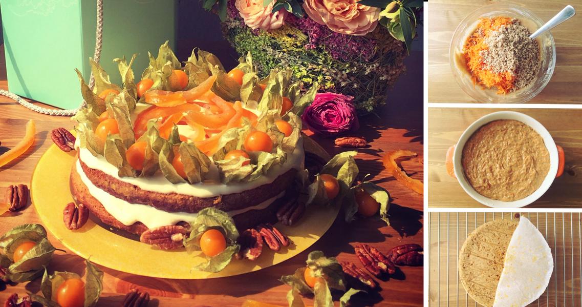 Фото Морковный торт: пошаговый фото-рецепт