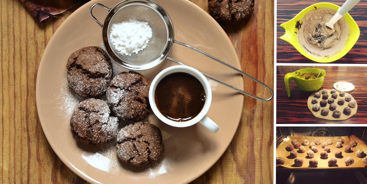Фото Шоколадные пряники: пошаговый фото-рецепт