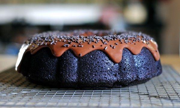 Фото Шоколадный торт с портером