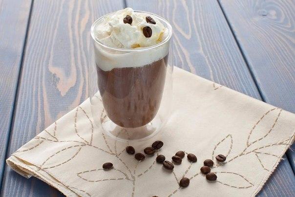 Пунш кофейный с мороженым
