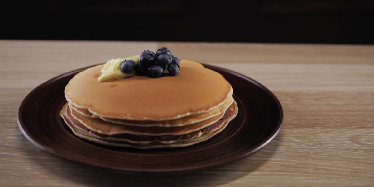 Пышные панкейки - быстрый и вкусный завтрак для всей семьи ♥