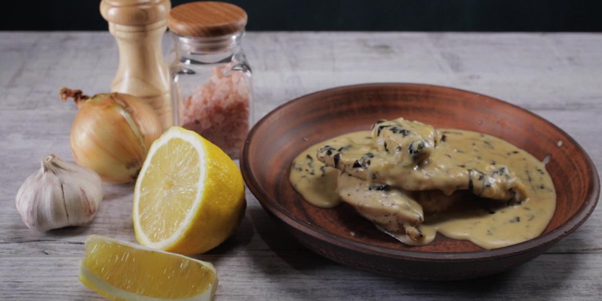 ВИДЕО-РЕЦЕПТ: Курица в сырном соусе