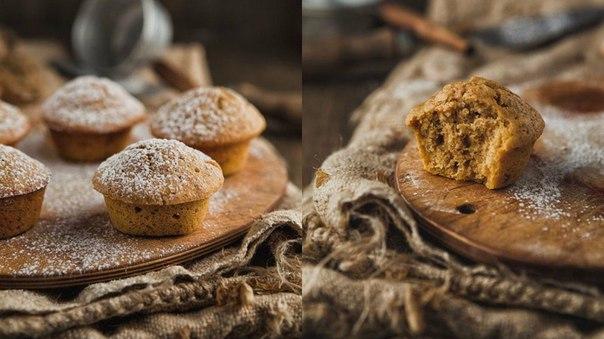 Медово-ореховые кексы