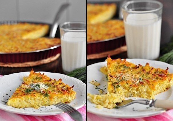 Фото Болгарский картофельник с брынзой