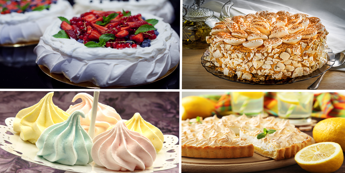 Как приготовить безе для десерта: пошаговый фото-рецепт
