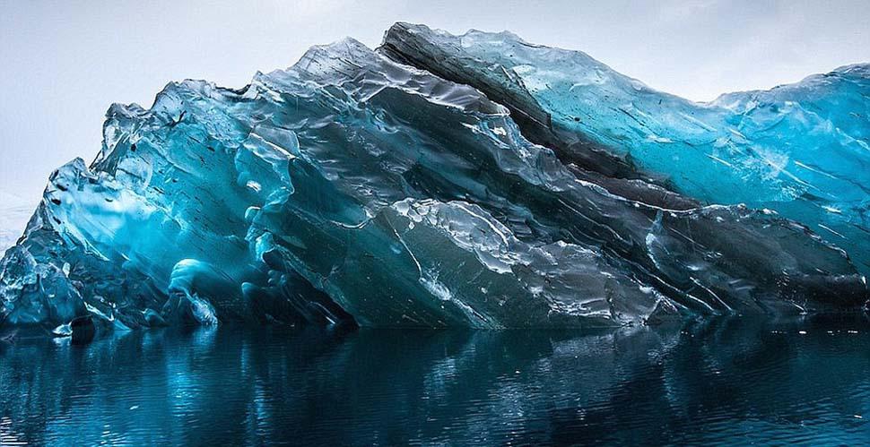 Фото Как выглядят самые древние в мире айсберги