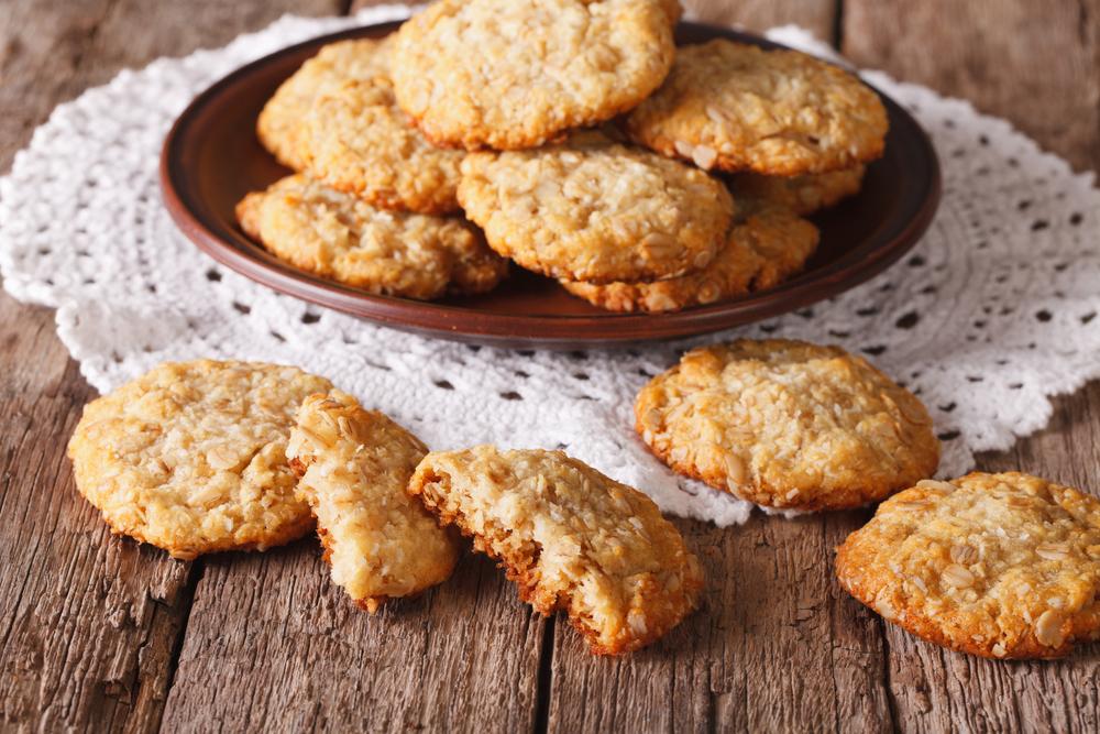 Кокосово-овсяные печеньки