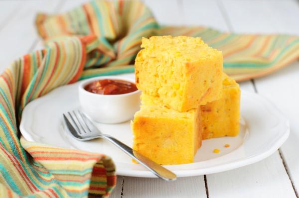 Фото Кукурузный хлеб с чили