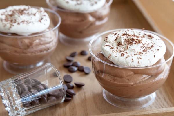 Фото Быстрый шоколадно-кофейный десерт