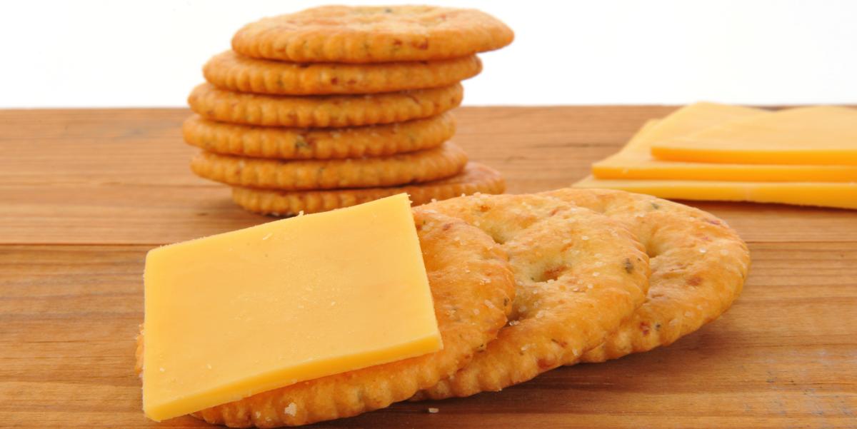 Фото Домашние сырные крекеры