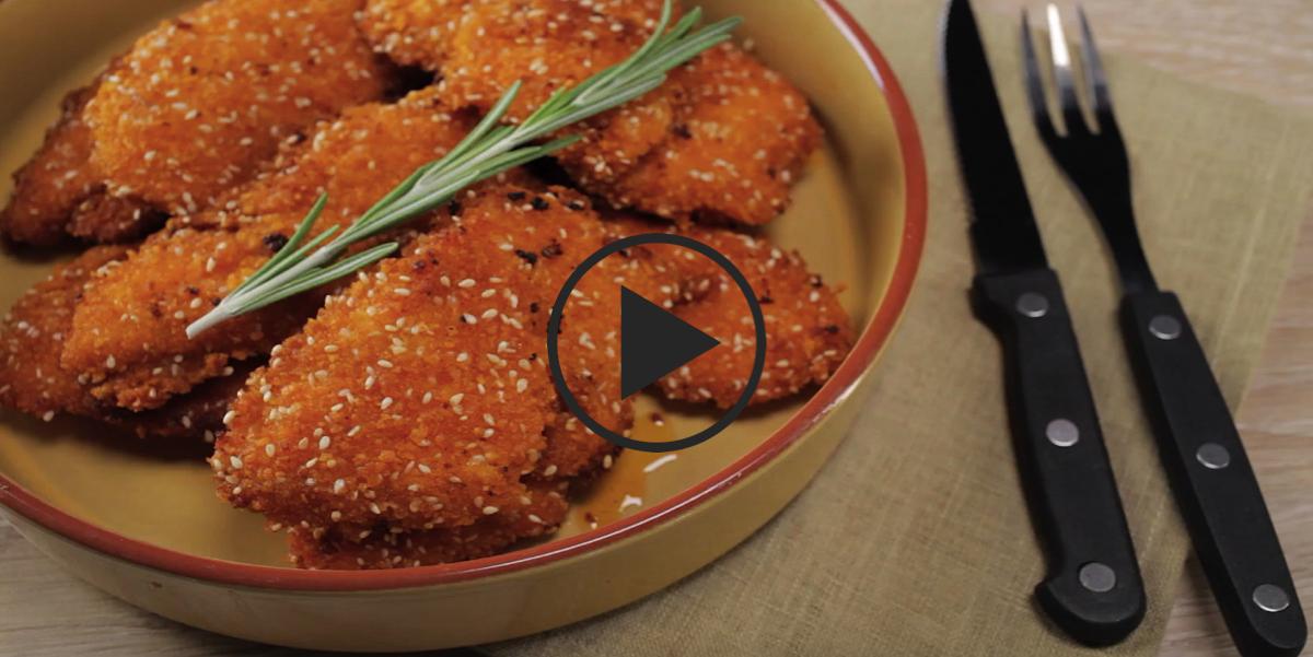 Хрустящая закуска для большой компании: видео-рецепт
