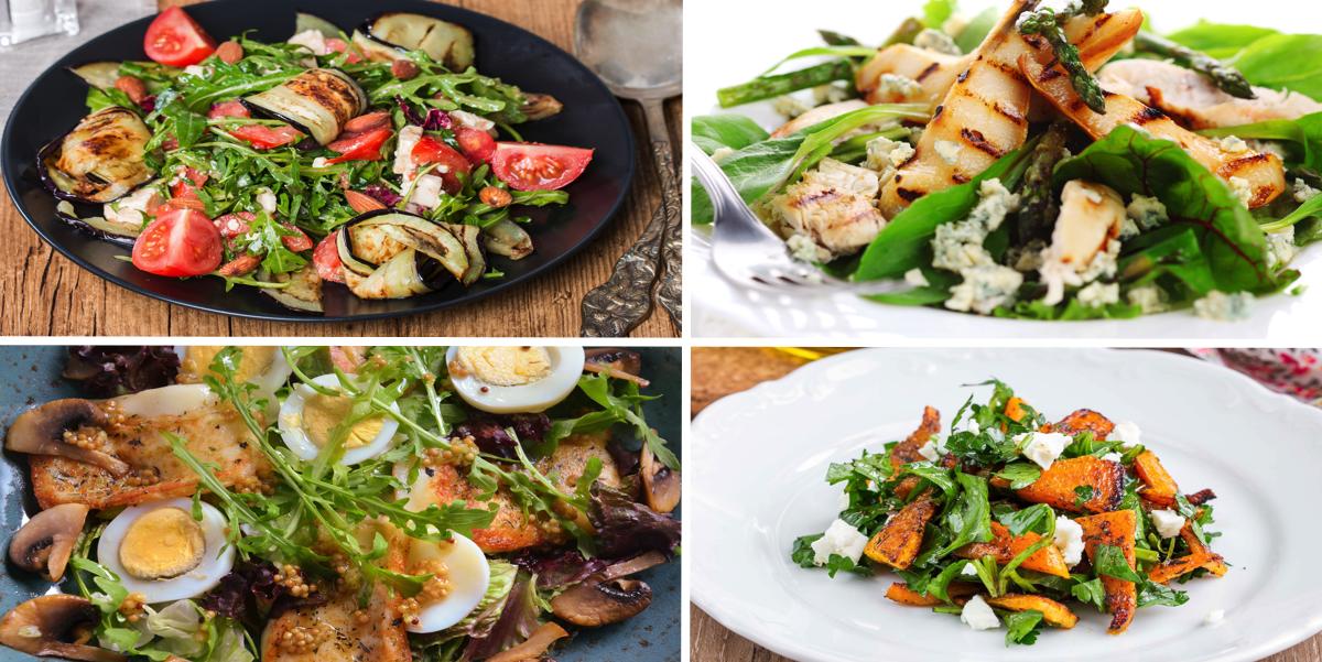 Фото Пять самых вкусных теплых салатов