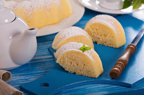 Фото Простой пирог с лимоном