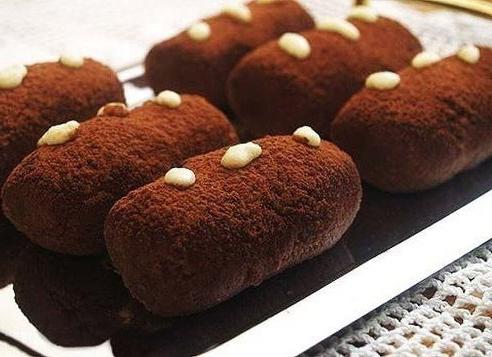 """Фото Пирожное """"Картошка"""" из печенья"""