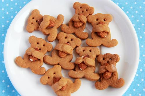 "Фото Имбирное печенье ""Мишки с орешками"""