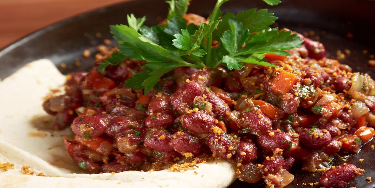Фото Быстрый рецепт замечательной вегетарианской закуски