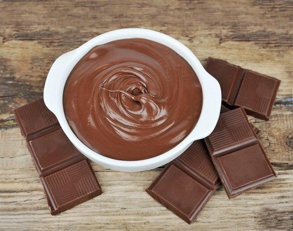 Фото Шоколадно-масляный крем для тортов