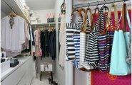 Идеи вашего дома: 7 крутых идей по организации маленькой гардеробной + 18 наглядных примеров