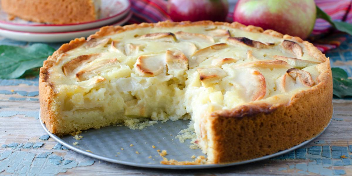 Фото Цветаевский яблочный пирог
