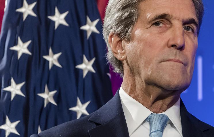 Фото Керри заявил о возможности введения новых санкций в отношении РФ из-за ситуации в Сирии