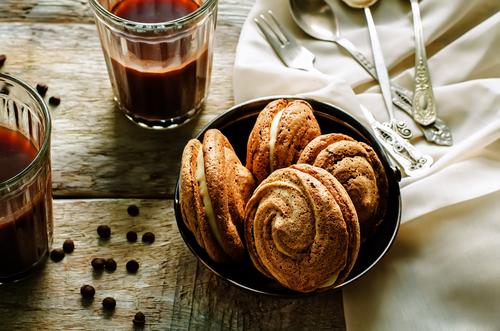 Фото Эти белковые печеньки исчезают как семечки - настолько они приятны , особенно с чашечной кофе.