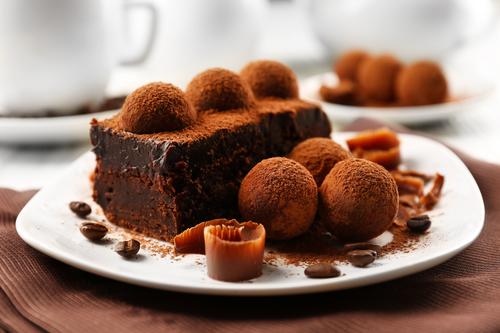 Фото Если вы хоть раз ели Трюфельный торт, то влюбитесь в него навсегда.