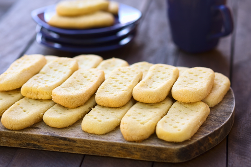 Фото Нежное песочное печенье