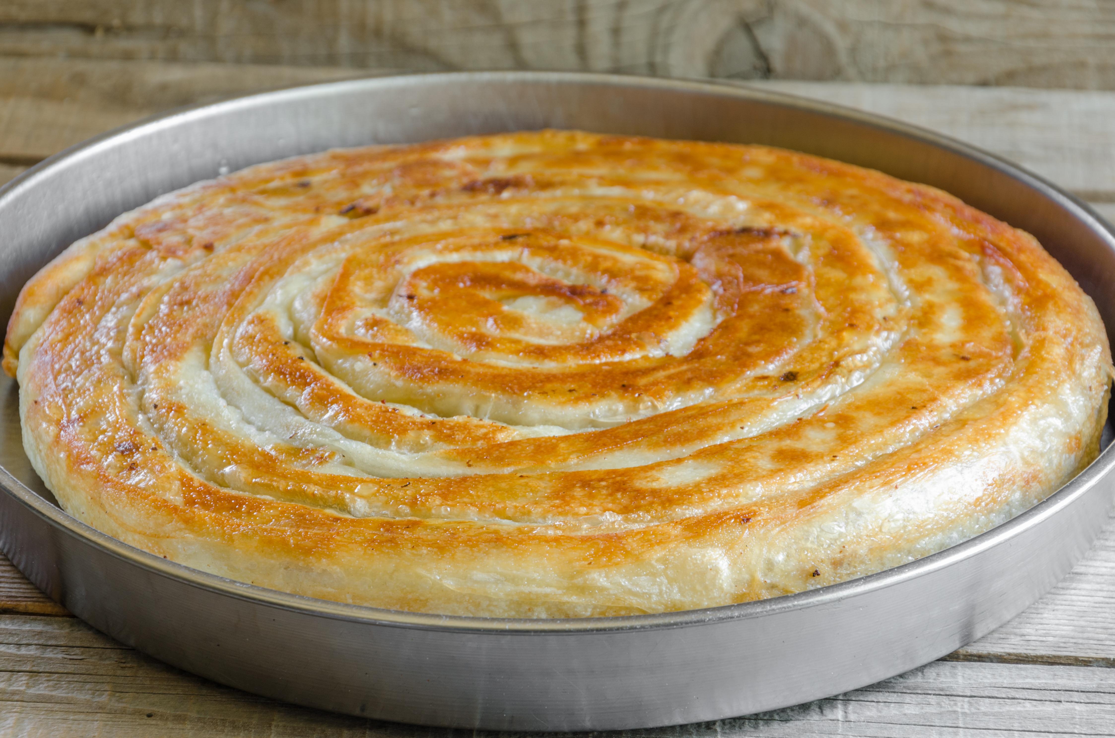 Мясной пирог в лаваше