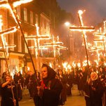 Lewes Journal: Where Burning Effigies (Not Just Guy Fawkes's) Is Part of the Fun