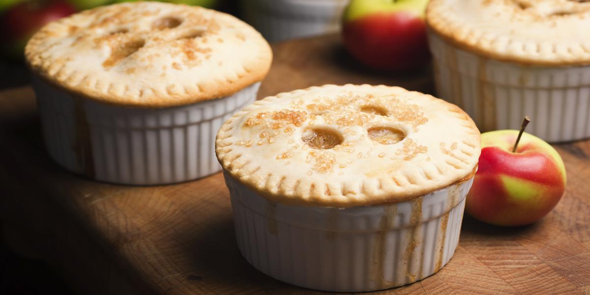 Фото Мини-пирожки с яблоками