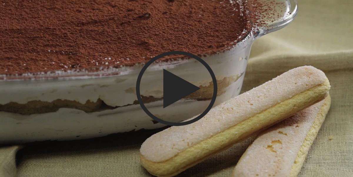 Тирамису за 15 минут: видео-рецепт