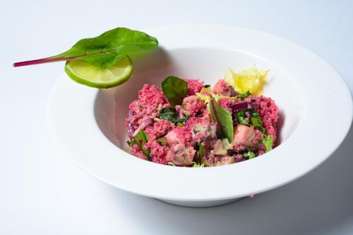Фото Свекольный салат с курицей